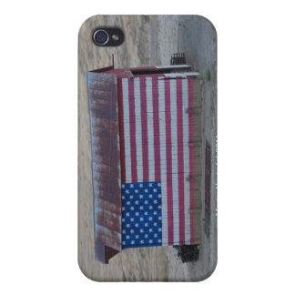 American Flag Barn iPhone Case iPhone 4 Covers
