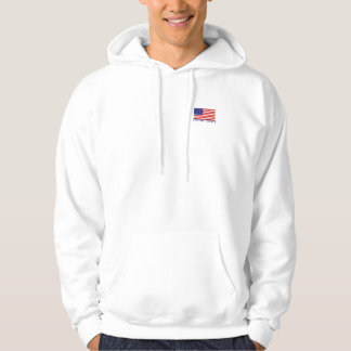 American Flag Basic Hooded Sweatshirt