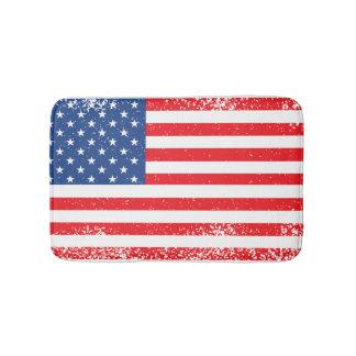 American Flag Bath Mats