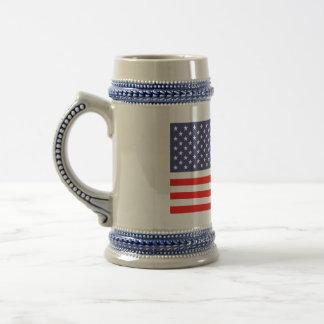 American flag beer mugs