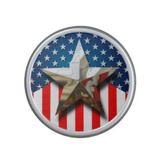 American Flag Bluetooth Speaker