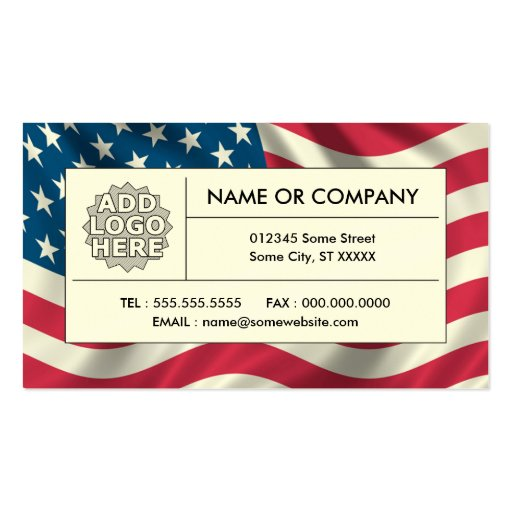 Collections of united states of america business cards page2 american flag business card templates reheart Images