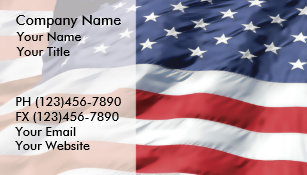 American flag business cards business card printing zazzle uk american flag business cards reheart Images
