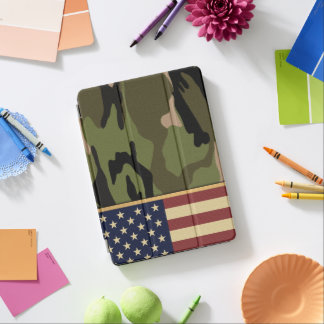 American Flag Camo iPad Pro Cover