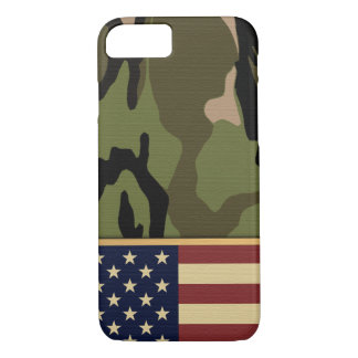 American Flag Camo iPhone 7 Case