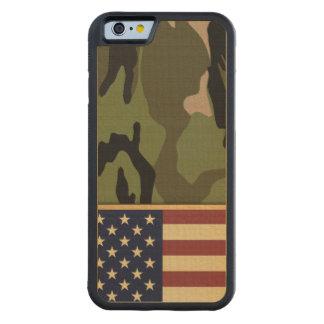 American Flag Camo Maple iPhone 6 Bumper