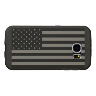 American Flag Camo Samsung Galaxy S6 Cases