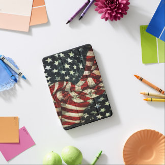 American Flag-Camouflage iPad Mini Cover