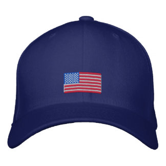American Flag Cap Embroidered Baseball Caps