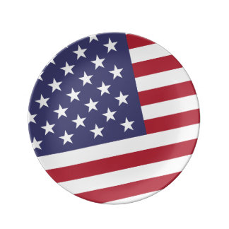 American Flag - Celebrate the USA - July 4 Classic Plate