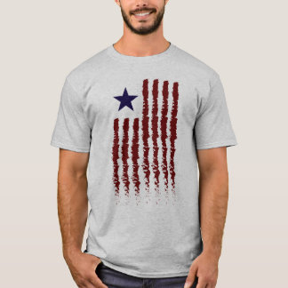 American Flag Contemporary T-Shirt