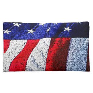 American Flag Cosmetic Bags
