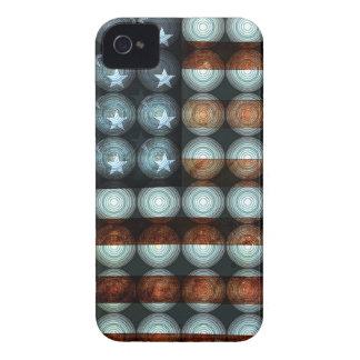 American Flag Creative iPhone 4 Case-Mate Cases