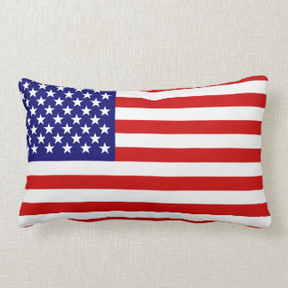 American flag throw pillows
