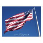 American Flag Custom Flyer