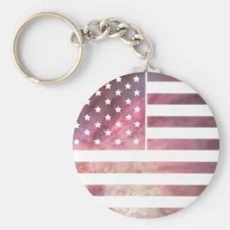 American Flag Design Key Chains