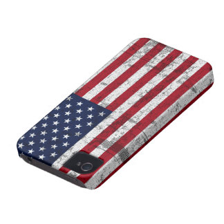 American Flag Distressed iPhone 4 Cases
