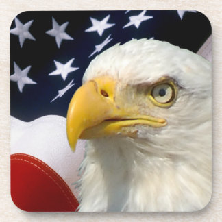 American Flag Eagle-5 Custom Coasters