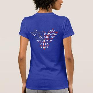 American Flag Eagle Aquila Tribal Tattoo T-shirt
