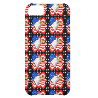 American Flag & Eagle Cover For iPhone 5C