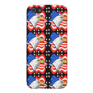 American Flag & Eagle Case For iPhone 5