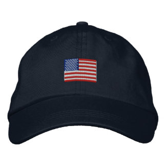 American Flag Hat Embroidered Baseball Caps
