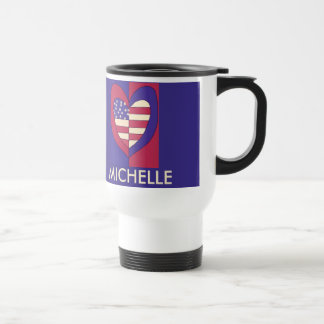 American Flag Inspired Original Design Travel Mug