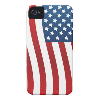 American Flag iPhone 4 Case-Mate Barely There iPhone 4 Covers