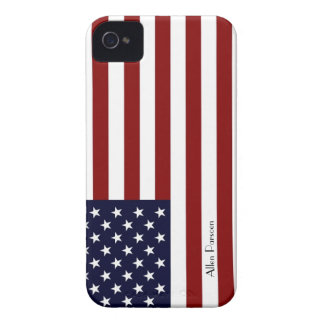 American Flag IPhone 4S Hard ID Case iPhone 4 Case-Mate Cases