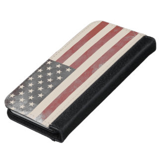 American Flag iPhone 6 Wallet Case