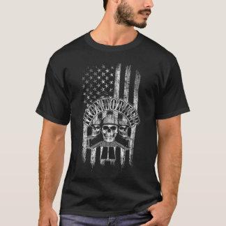 American Flag Ironworker T-Shirt