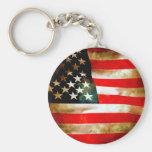 American Flag Items Keychains