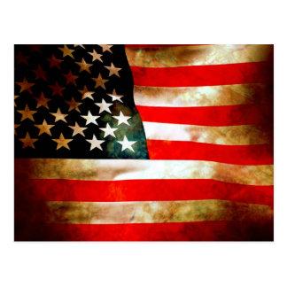 American Flag Items Post Card