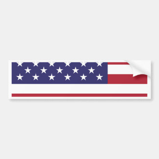 American Flag  July 4th Gifts Bumper Sticker