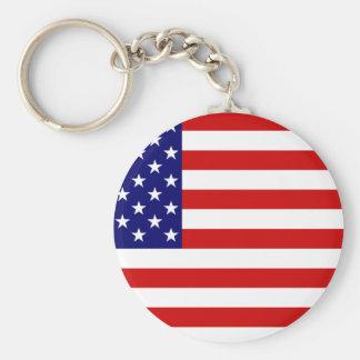 American Flag Key Chains