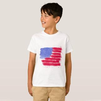 American Flag Kids Shirt