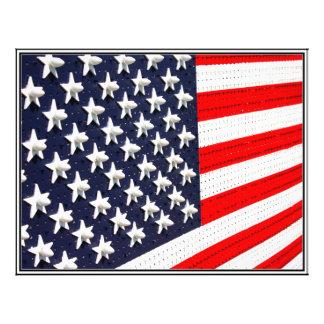American Flag Lights Display Flyers