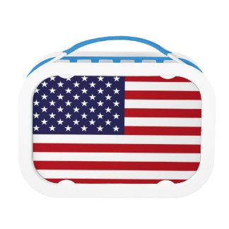 American Flag Lunch Boxes
