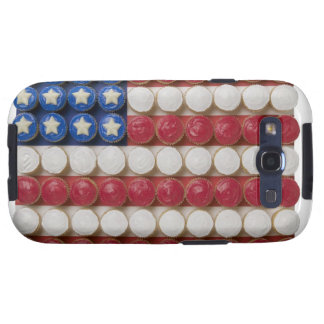 American flag made of cupcakes samsung galaxy s3 case
