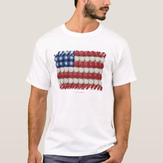 American flag made of cupcakes T-Shirt