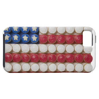 American flag made of cupcakes tough iPhone 5 case