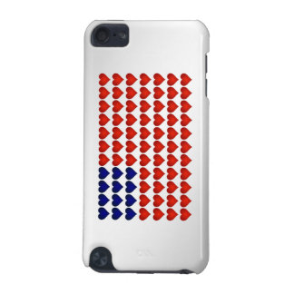 American Flag Made of Hearts iPod Touch 5G Case