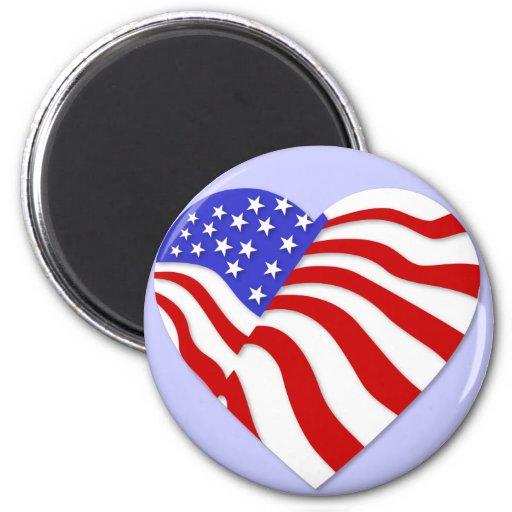 American Flag Magnet America Military Pride Gift