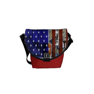 american flag Mini Messenger Bag