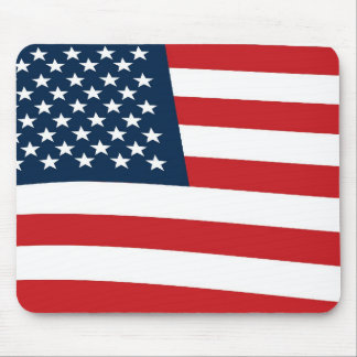 American flag mouse mats