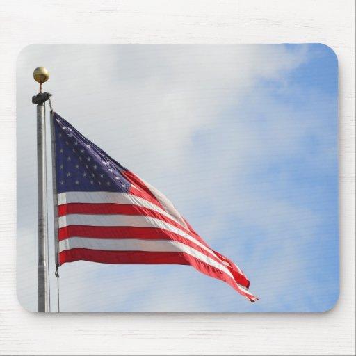 American Flag Mousepads