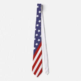 American Flag Necktie Tie
