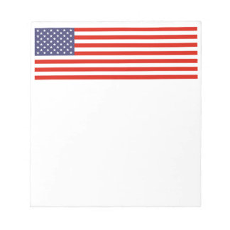 American flag note pads | Patriotic USA design