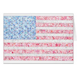 American Flag Notecards Greeting Cards