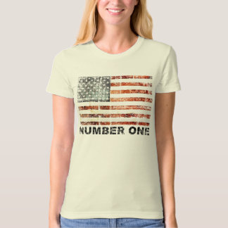 American Flag, Number One T-Shirt